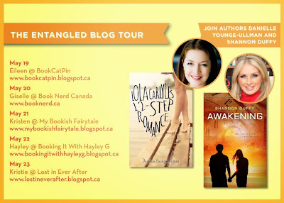 The Entangled Blog Tour Postcard