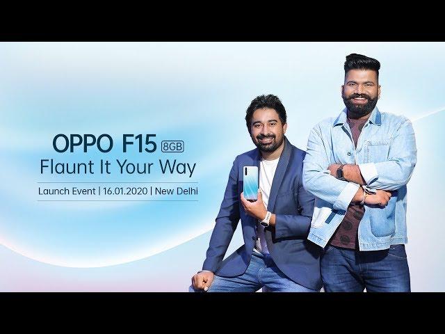 Oppo F15, Redmi Note 8 Pro, India , oposisi F15, smartphone. dirilis