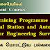 Total Station and AutoCAD for Engineering Surveys (Training Programme) - இலங்கை மொரட்டுவ பல்கலைக்கழகம்
