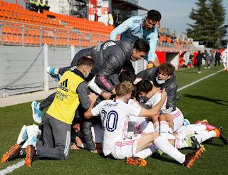 Madrid es blanca. Atlético de Madrid B 1-2 Real Madrid Castilla.
