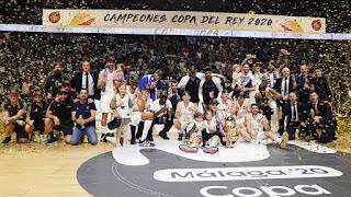BALONCESTO - Copa del Rey 2019/2020: El Real Madrid de Pablo Laso vuelve a ser el rey de copas
