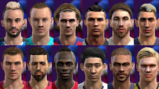 - New Faces Added + Updated 2019/2020