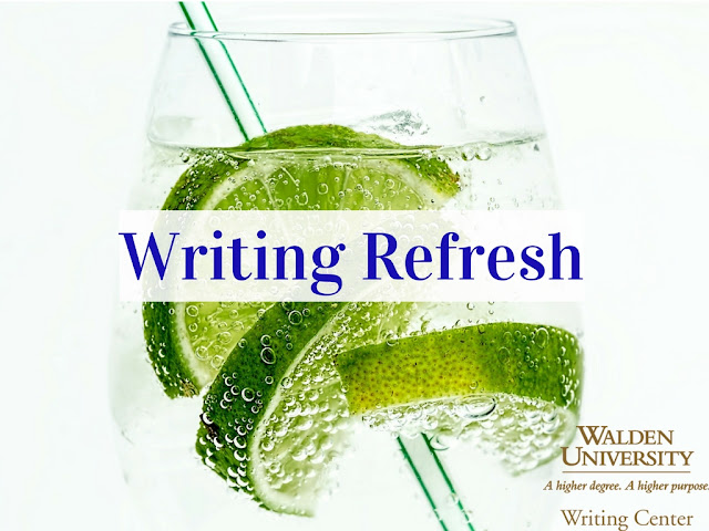 Image of glass with lime and straw with Writing Refresh written over it