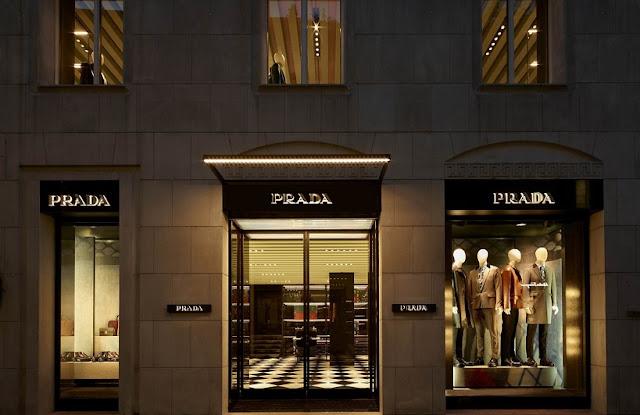 Lojas em Milão na Itália