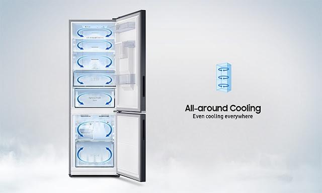 Tủ lạnh hai cửa Ngăn Đông Dưới 424L (RL4034SBAS8/SV)