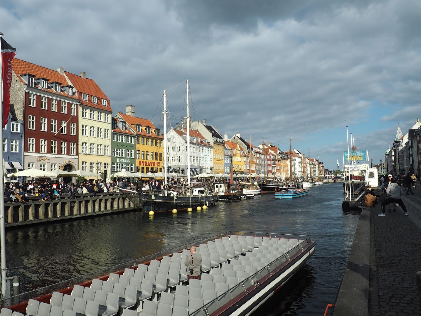 Boats at Nyhavn, Copenhagen
