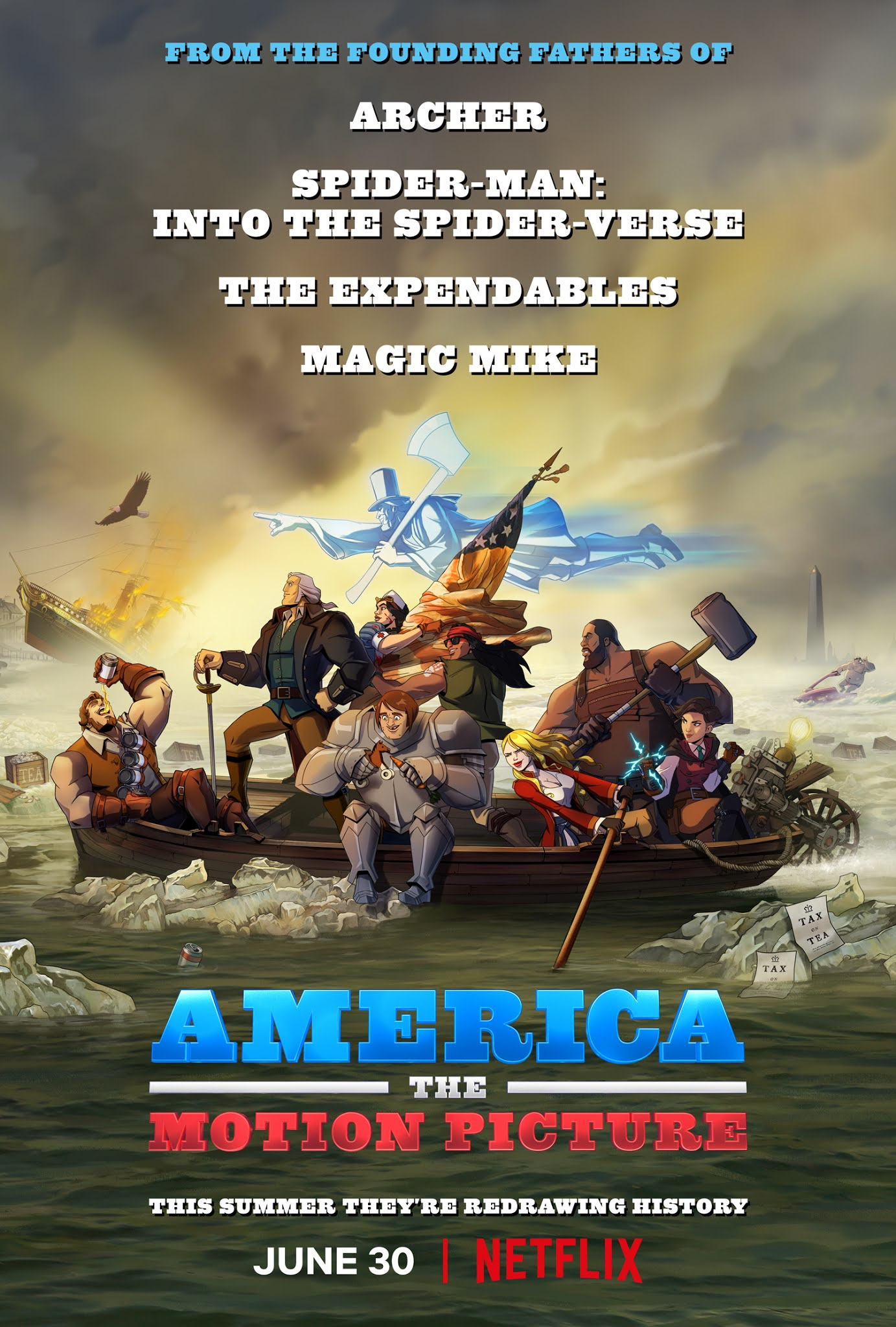America: The Motion Picture 2021