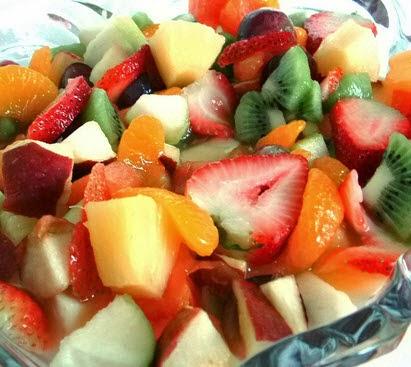 Salad buah-buahan segar