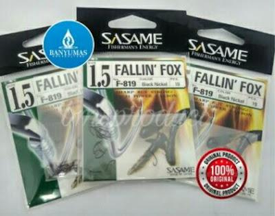 Mata kail Pancing Sasame Fallin Fox F-819