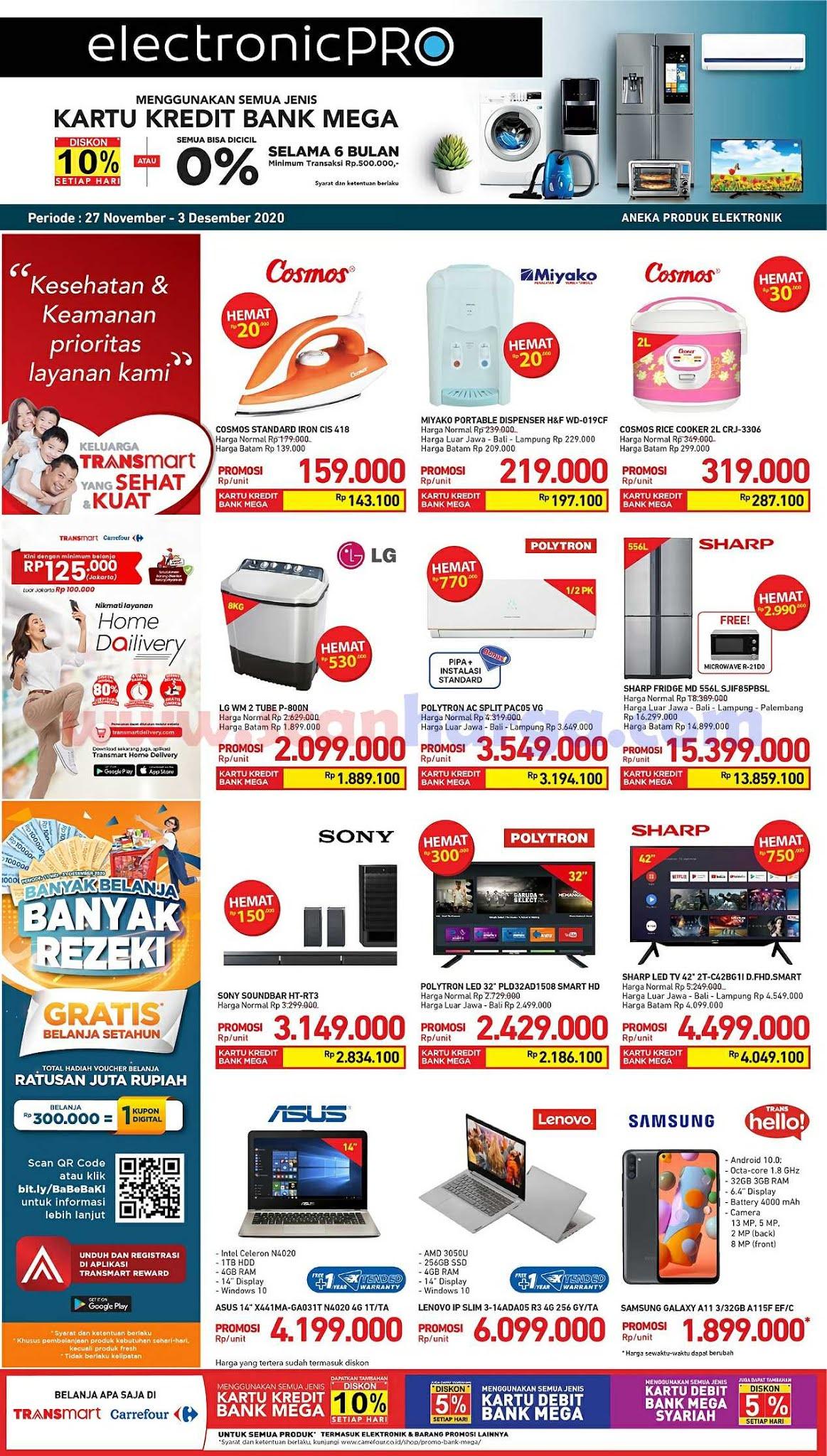 Promo JSM Carrefour Weekend 27 November - 1 Desember 2020 2