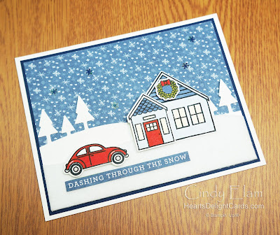 Heart's Delight Cards, Coming Home, 2020 Aug-Dec Mini, 12 Days of Christmas in July, Stampin' Up!