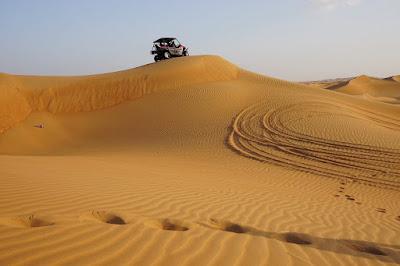 التنقل في صحراء الكويت
