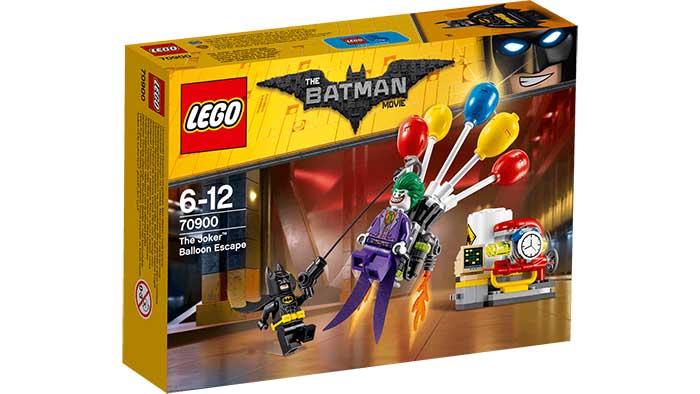 Ref. 70900: Globos de fuga de The Joker