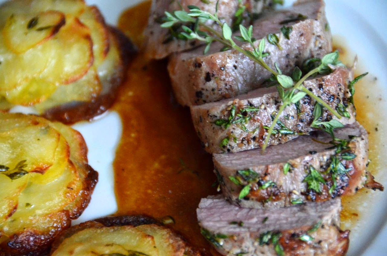 HONEY-THYME ROASTED PORK FILET