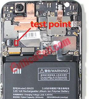 Test Point Xiaomi Mi5C