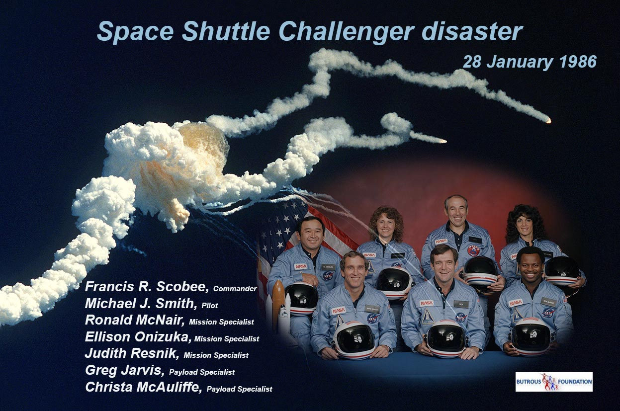 space shuttle challenger glow - photo #32