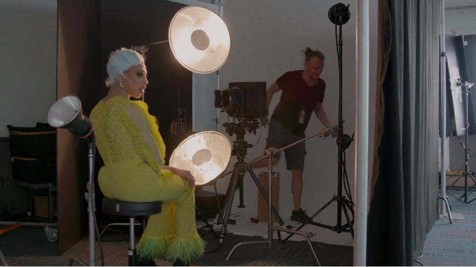Martin Schoeller for New York Magazine - RuPaul's DragCon LA behind-the-scenes video