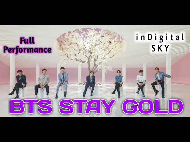 BTS STAY GOLD LYRICS