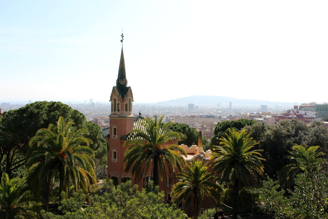 Barcelona, Park Guell, @rouvasana