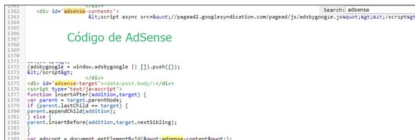 Cómo poner anuncios AdSense dentro del texto en Blogger