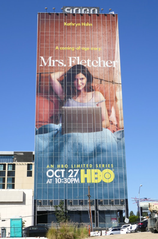 Kathryn Hahn Mrs Fletcher HBO billboard