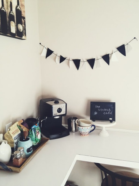 ركن القهوة المطبخ