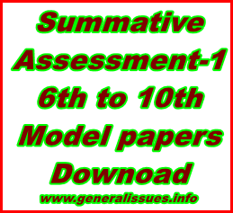 Summative-assessment-1-6th-to-10th-model-papers