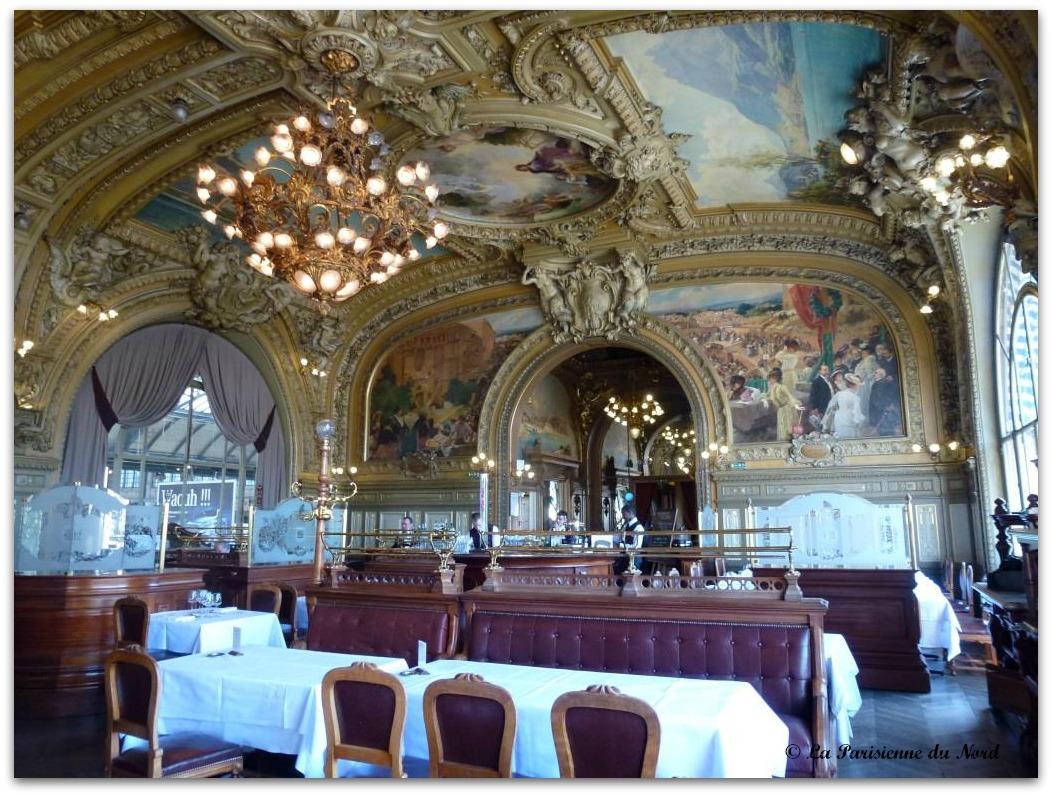 Origine Du Train Bleu A Paris Restaurant