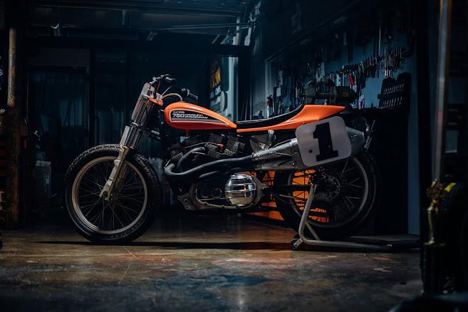 Harley Davidson XR 750 Flat Tracker - Photo Evan H Senn