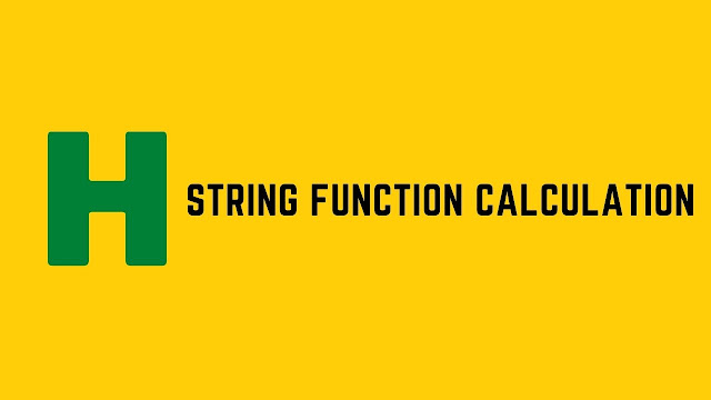 HackerRank String Function Calculation problem solution