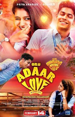 Oru Adaar Love 2019 UNCUT Dual Audio Hindi 720p HDRip ESubs Download