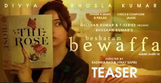 Besharam Bewaffa Lyrics - B Praak x Divya Khosla Kumar