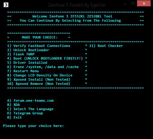 Unlocking tool for asus zenfone max | Unlock Bootloader of