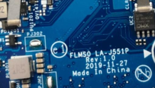 LA-J551P Rev 1.0 Lenovo Xiaoxin AIR-14IIL 2020 FLMS0 Bios