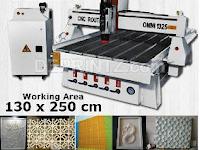 Harga Mesin CNC Router OMNI 1325