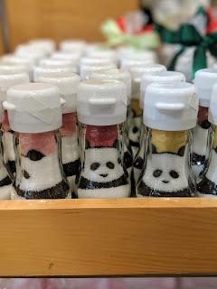 Japan food: sugar colored to look like a panda