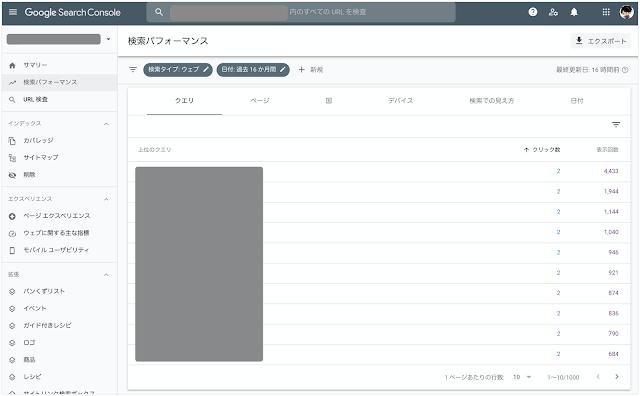 データポータルでSearch Consoleのデータをエクスポートする際の注意点_01