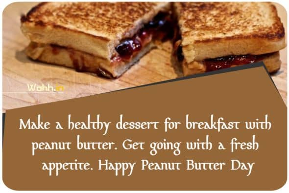 National Peanut Butter and Jelly Day Wishes Greetings