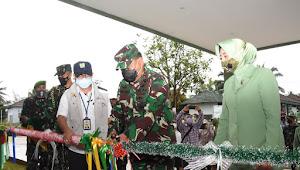 Pangdam III/Slw Resmikan Bangunan Baru Dodiklatpur Rindam III/Slw Hasil Kerjasama Dengan BBWS Cidanau Ciujung Cidurian