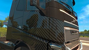 ETS2 Carbon Skins Pack for all SCS trucks