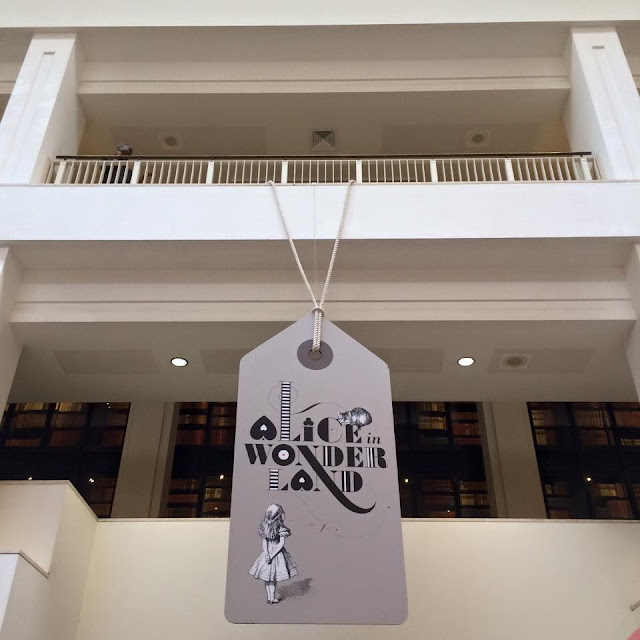 Alice in Wonderland exhibition at the British Library