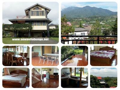 Villa Menarik Di Lembang Pemandangan Pegunungan