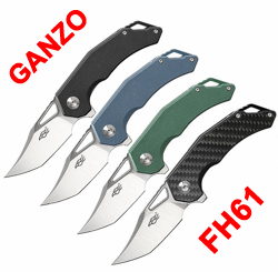 New Ganzo Firebird FH61 flippers