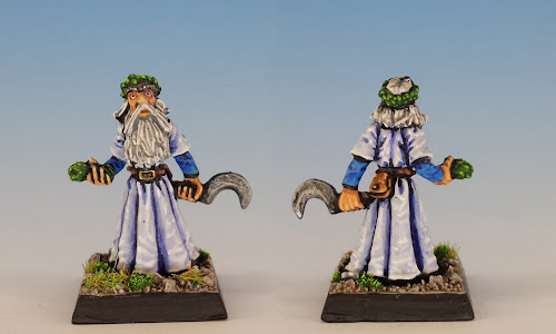 Talisman Druid, Citadel Miniatures (1985, sculpted by Aly Morrison)