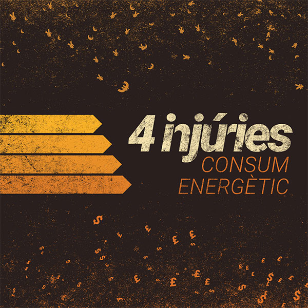"4 Injúries stream new EP ""Consum Energètic"""