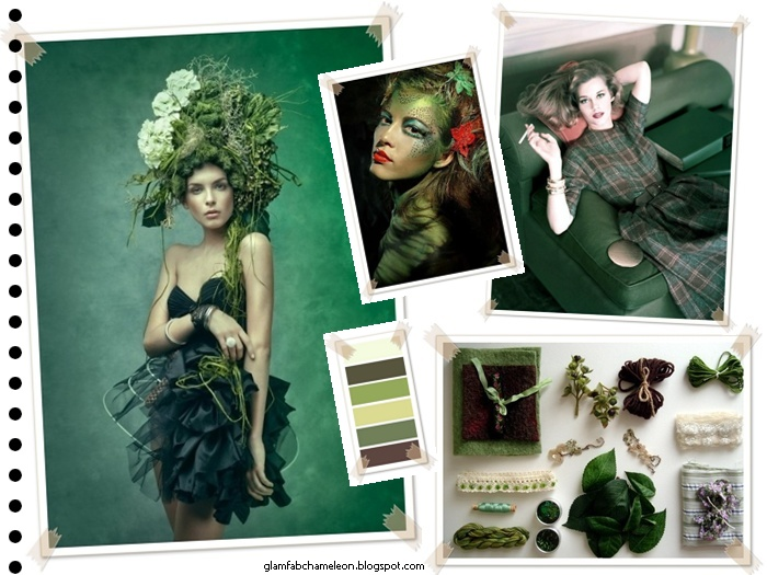forest green color visual inspiration