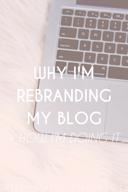 Why I'm Rebranding My Blog + How I'm Doing It