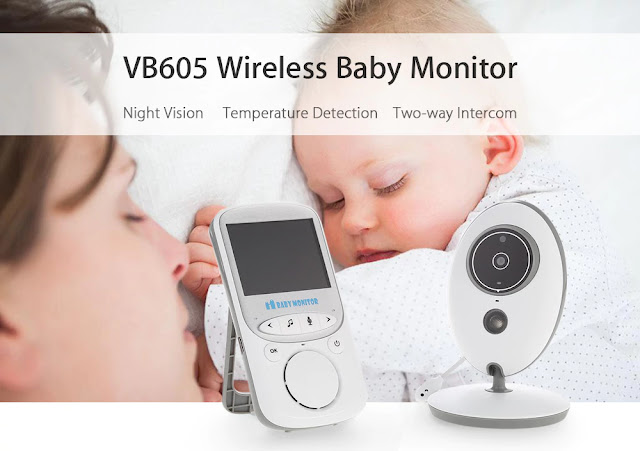 VB605 Wireless Baby Monitor IP Camera Security System Coupon & Review