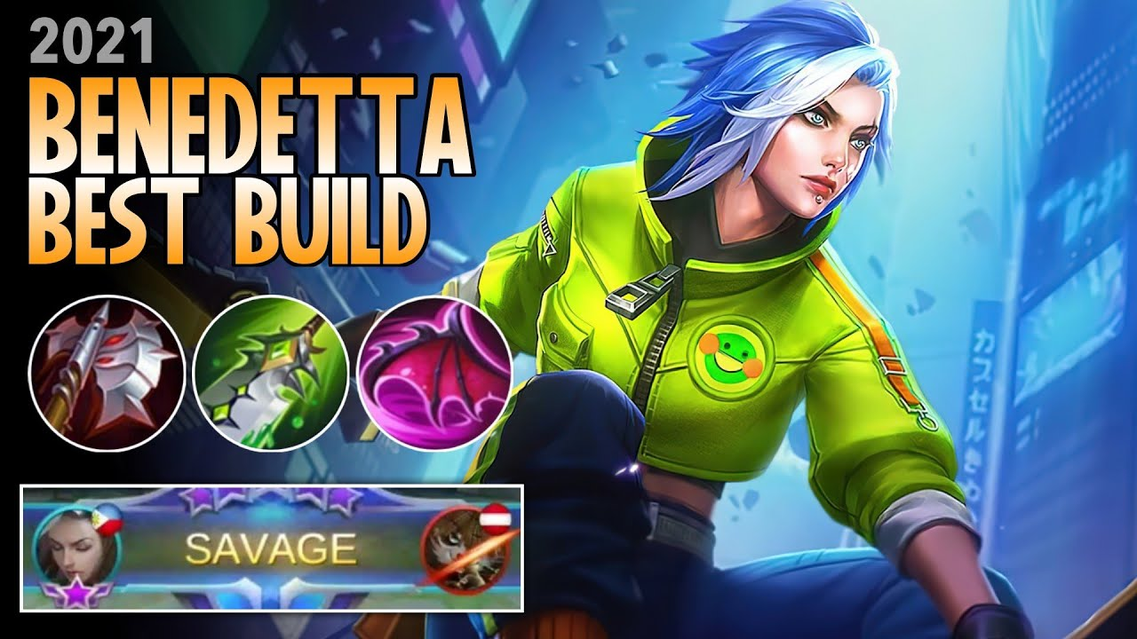 Best Build Benedetta Mobile Legends From Top Global 2021