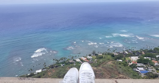 Diamond Head Trail - Honolulu, Hawaii